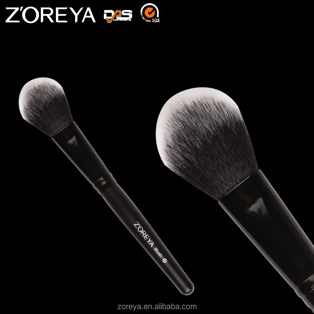 New Design Classic Black handle 84 synthetic hair Blush makeup brush