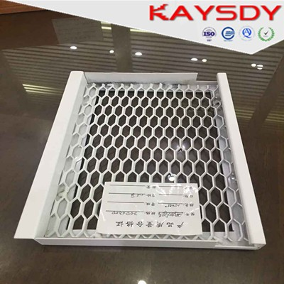2017 Hot Sale aluminum expand wire peforated mesh false ceiling materials
