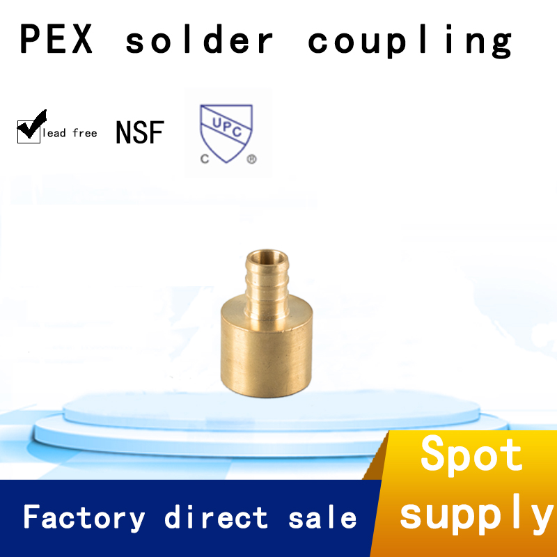 Manufacturer wholesale 1/2 tee brass pex <strong>fittings</strong> for pipe system