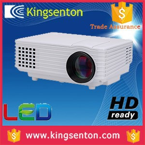theater video game projector 800*480 support 1080p 800lumens Contrast Ratio: 1000:1 cheap price with trade assurance
