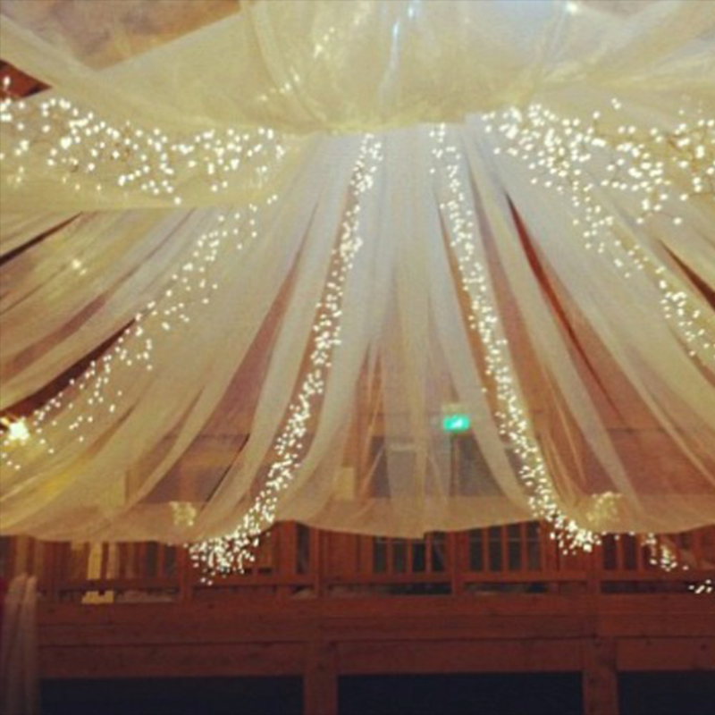 Warm White Ceiling Party Led Fairy Lights For Wedding Decoration