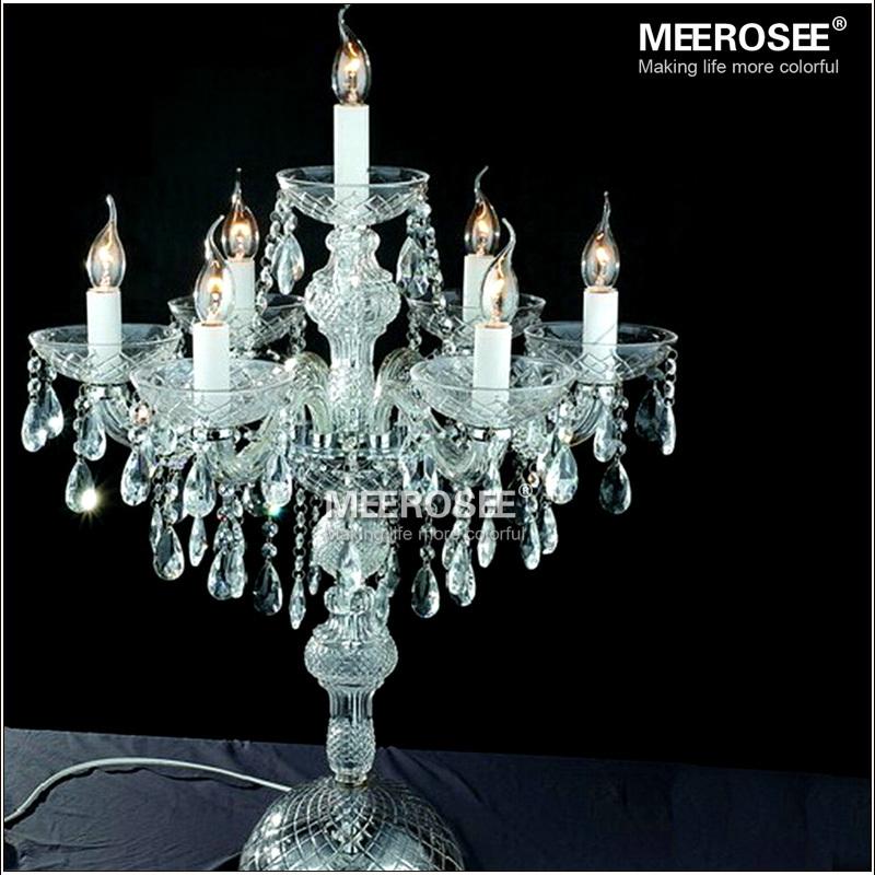 Exceptional Wholesale Crystal Table Top Chandelier Candelabra Wedding Decoration  Centerpieces MT2630
