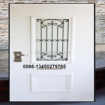 Hot Sale Israel Security Door With Decorative Security Glass Buy