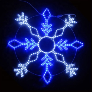 Led Lighted Snowflake Hanging