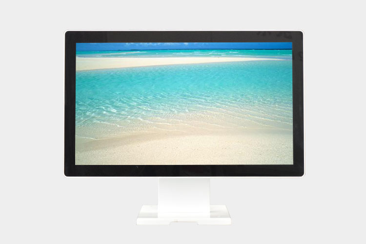 Dual White 21.5 Inch HD 1920*1080 Capacitive POS Touch Screen Monitor