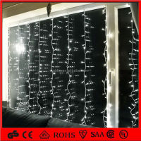 2012 CE RoHS outdoor use led christmas curtain waterfall lights
