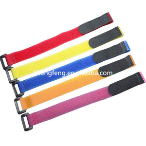 Well Designed magic tape hooks plastic hair roller hot sell colorful customized hook and loop cable