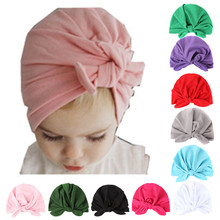 Baby Girl Winter Autumn Cotton Soft Hat India Style Plain Infant Toddler Caps