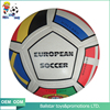4 inch stuffed phthalate free PU/pvc Leatehr vinyl flag children toys soft soccer football ball from guangzhou
