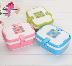 New Arrival Latest Design recyclable plastic lunch box for kids