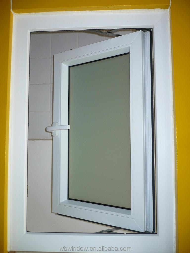 Frosted glass window bathroom - Cheap Frosted Glass Pvc Upvc Casement Side Hung Bathroom Windows Frosted Bathroom Window Glass