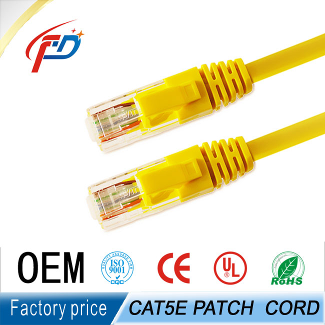 Wholesale 24AWG Twisted 4 Pair UTP/STP/FTP/SFTP cat5e cat6 Patch Cord