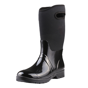 Wholesale Fashion Women Muck Neoprene Safety Wellington Rain Boots With Handle