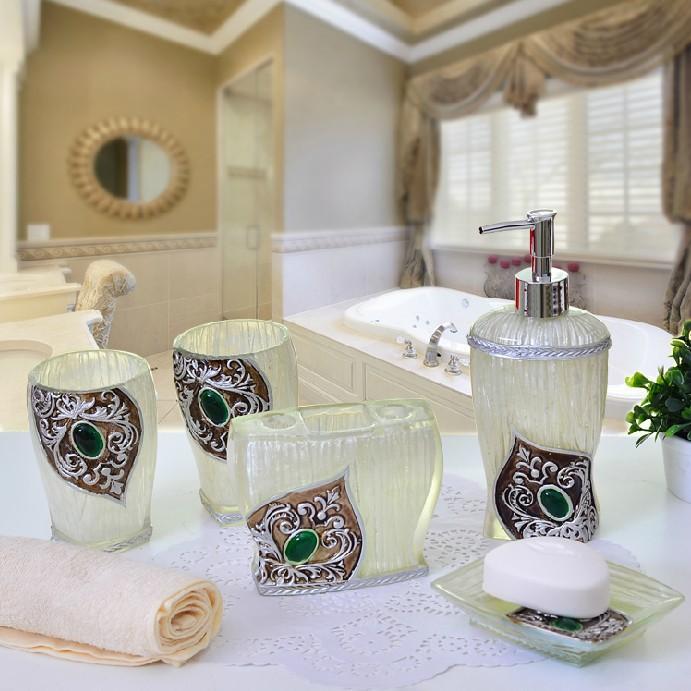 Elegant Bathroom Accessories Cheap: 2014 Luxury Bathroom Accessories Set Elegant Bathroom Sets