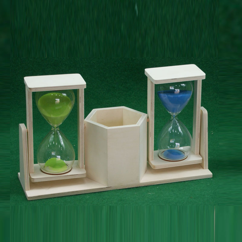 Hot sell natural wood 30 second sand timer