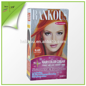 Rankous Brand Hair Coloring Best Hair Dye Wholesale Products Dark ...