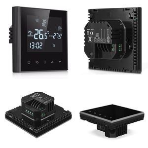 Quality 220V 16A Weekly Programmable Wifi Underfloor Heating Thermostat LCD Touch Screen Room Warming Temperature Controller