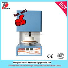 Denture vacuum porcelain furnace/mini dental porcelain furnace/ dental lab equipment