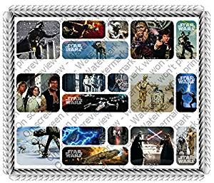 Stars Wars Galaxy Edible Icing Image Cake Border Decoration (3 Strips)