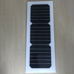 Sunpower solar cell cutting Customized designed semi flexible solar panel 10w 10v