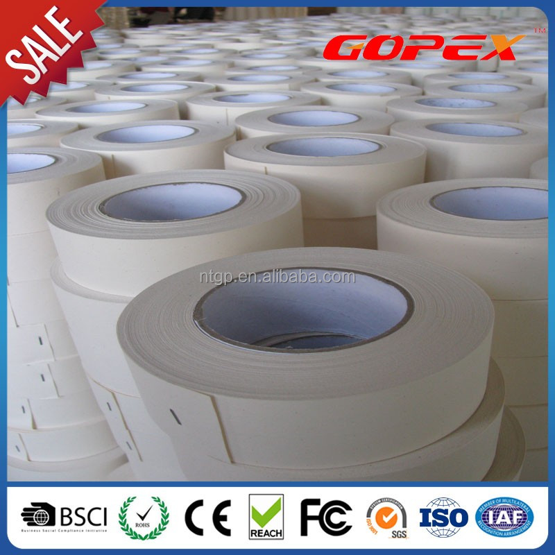 Paper Joint Tape for Gypsum Board Flat Seams Joint Processing of Angles