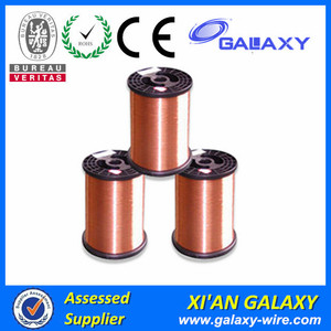 Copper Clad Aluminum Cca Wire High Conductivity Magnet Wire 18 Gauge AWG Enameled Copper 100 Feet Coil Winding and Crafts 200C