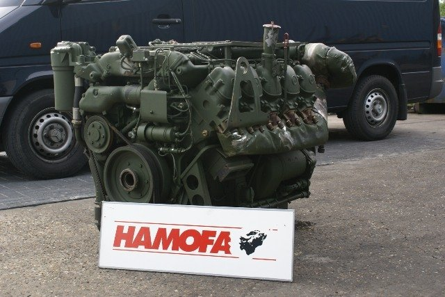 Mercedes Om447 Bus Engine Used