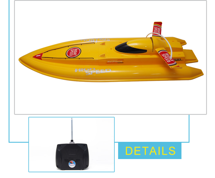 hot selling toy kids rechargeable rc speed boats with high quality