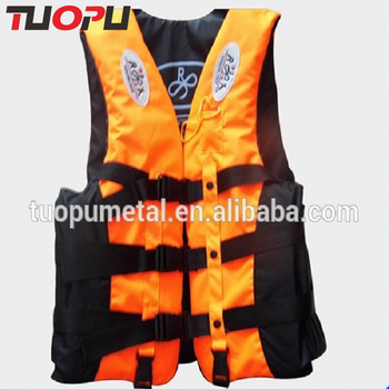 Water safety product yellow work vest life jacket,OEM logo fashionable life jacket for sale