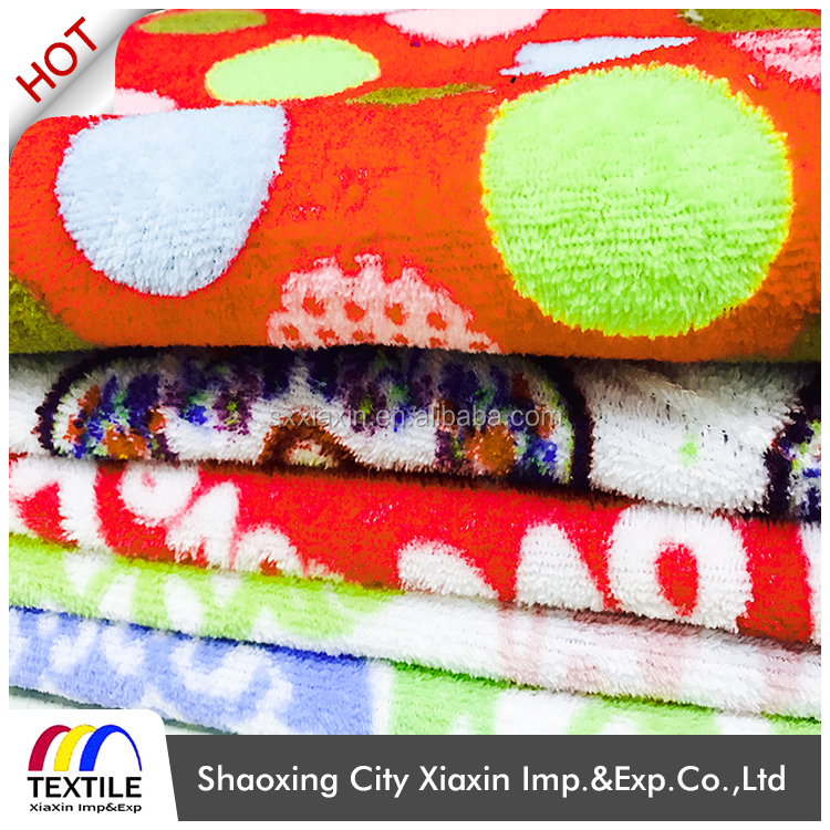 2017 New style 100% polyester printed blanket coral fleece