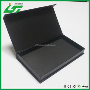 High quality magnetic closure sd card packaging box factory