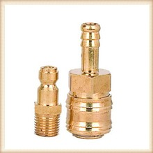 cnc machining part brass fitting hose barb lathe accessories OEM metal machine shop