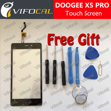 DOOGEE X5 PRO Touch Screen 100% New Original Digitizer Glass Panel Replacement repair accessory For Mobile Phone + Free shipping