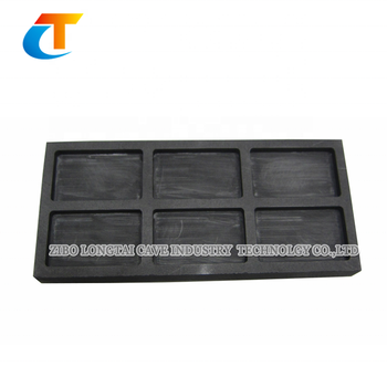 High Purity Graphite ingot Mold For Gold Casting
