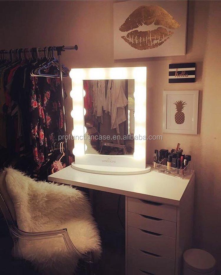 Hot Selling Hotel Hoek Tafel Top Make Upspiegel Dressing
