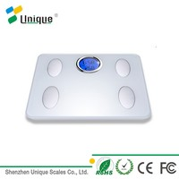 China factory bone density bluetooth body fat bathroom weighing scale with 180kg