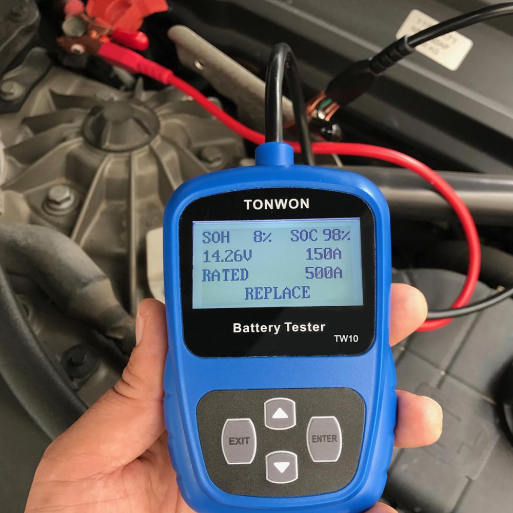 Tonwon Tw20 Universal 12v Car Battery Load Tester Auto Battery