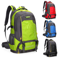 best backpack makers fashion universal 60l waterproof leisure hiking sports backpack bag from china supplier