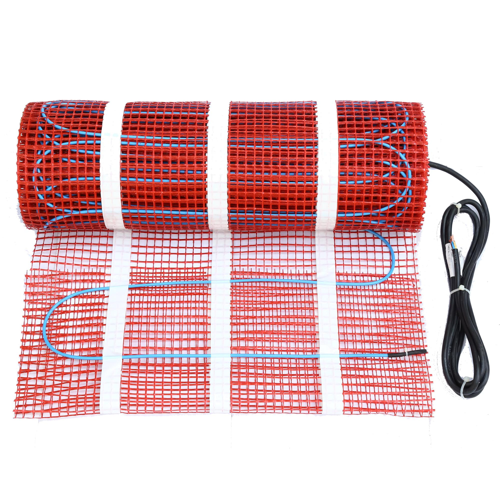 150W/m2 Manufacturers Floor Warming Electric Radiant Floor Heating Mat