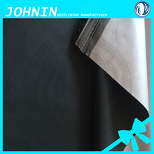100% waterproof silver coated 190T polyester taffeta blackout lining fabric