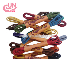 Waxed Shoe Laces Round Thin Dress Shoe Lace Coloured Shoelaces 3mm Foot Rope