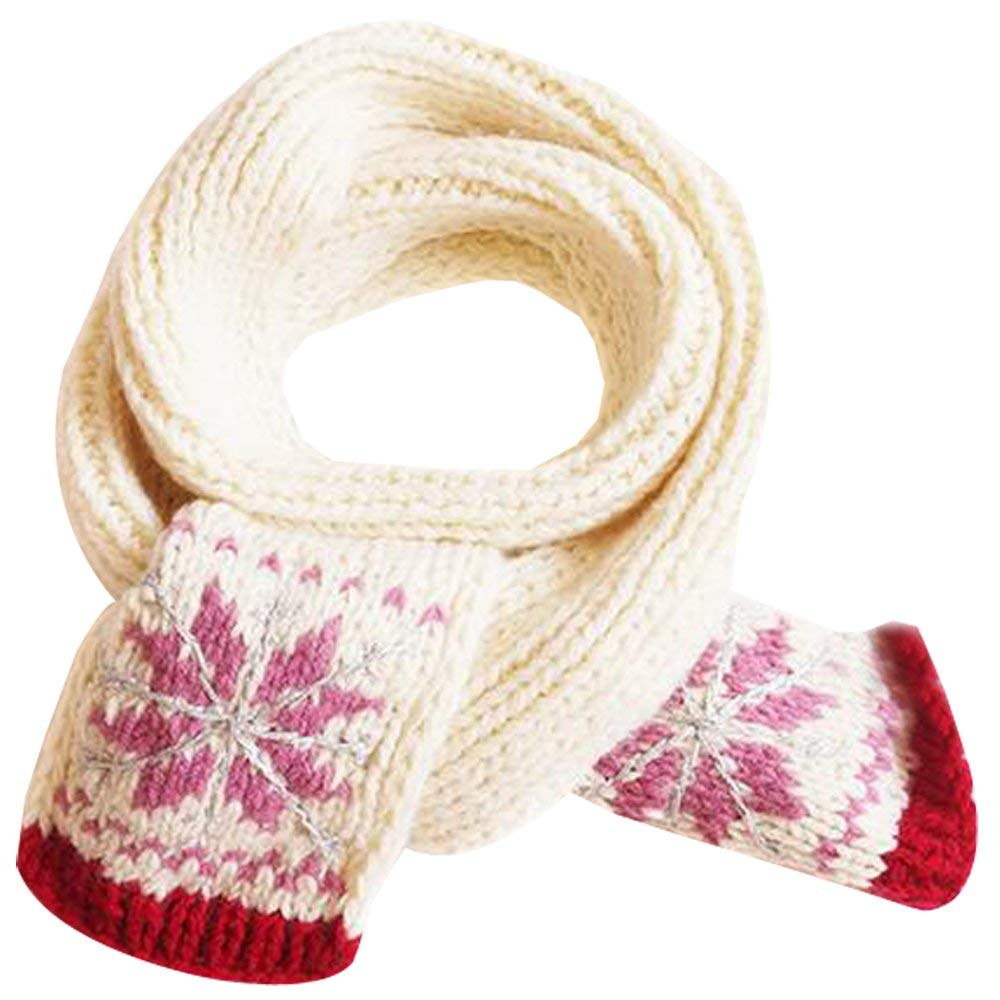 Molyveva Winter Baby Warm Boy Girl Cotton Scarf Knitted O Ring Neck Scarves