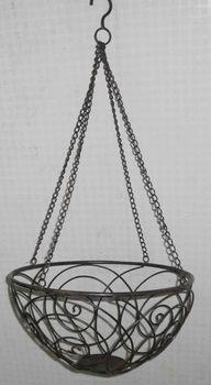 Wholesale Handicraft Garden Decorative Metal Plant Wire Hanging