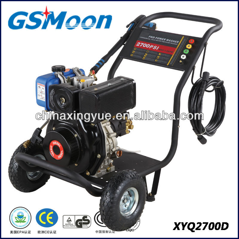 2700psi CE EPA approved Diesel High Pressure Washer