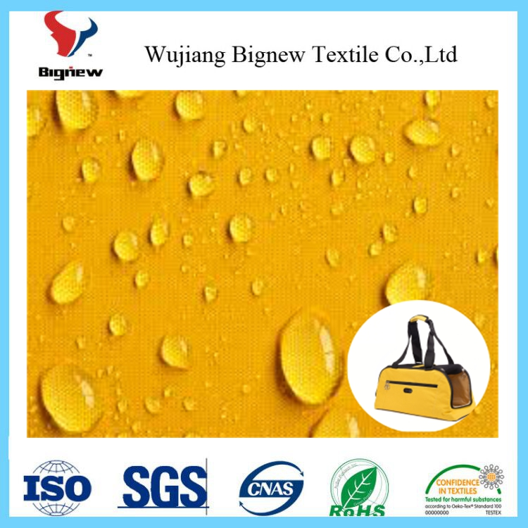 eco nylon oxford fabric poly oxford fabric waterproof 600d polyester oxford fabric