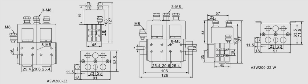 Adc200 double pole contactor for winch relay 12v 24v dc contactor adc200 double pole contactor for winch relay 12v 24v dc contactor swarovskicordoba Choice Image