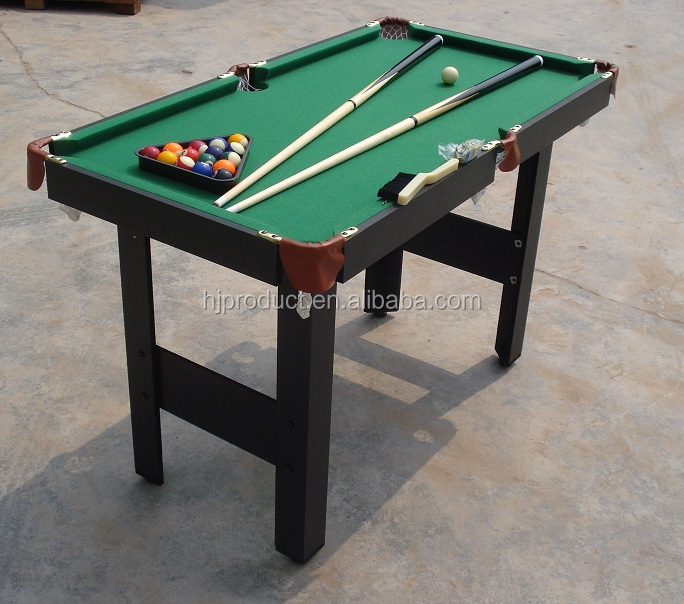 4ft ,5ft Economic Price Foldable Billiard Table Pool Table Small Game Table  For Kids On