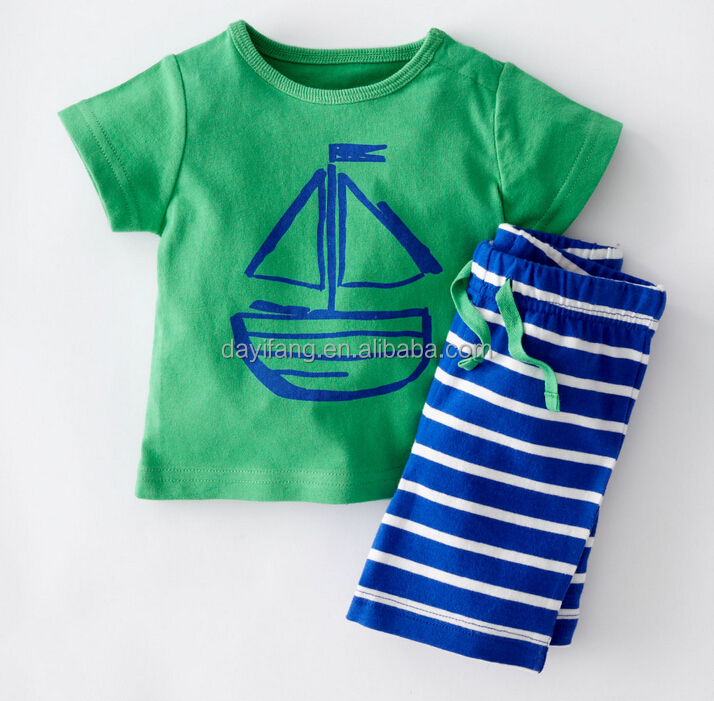 a251585600f Cute Baby Boy T-shirt Suits 0-3year