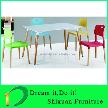 Awe Inspiring Modern New Designed Mdf Beech Wood Dining Table And Chair Buy Dining Table And Chair Restaurant Dining Tables And Chairs Cheap Dining Table And 6 Frankydiablos Diy Chair Ideas Frankydiabloscom