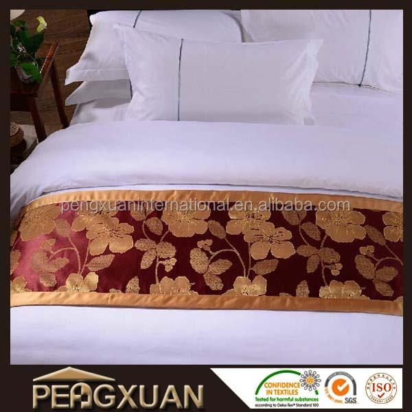 kingsize hotel bed runner beddengoed set product id 1934008815. Black Bedroom Furniture Sets. Home Design Ideas